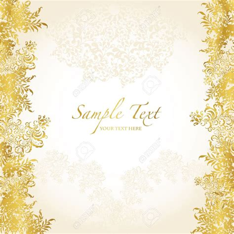 Wedding Gold by Golden Wedding Background Design Gold Abstract Background