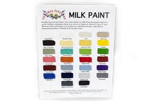 milk paint colors point of purchase materials general finishes