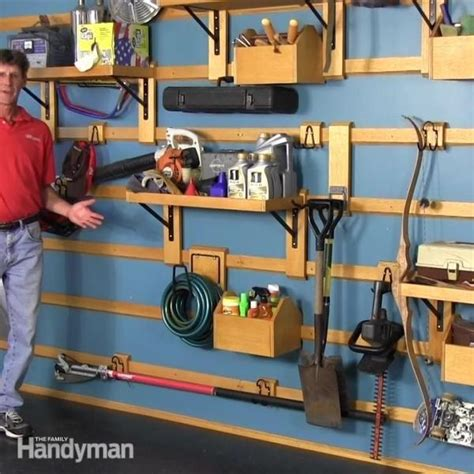 Garage Storage Ideas Handyman Custom Garage Storage The Family Handyman