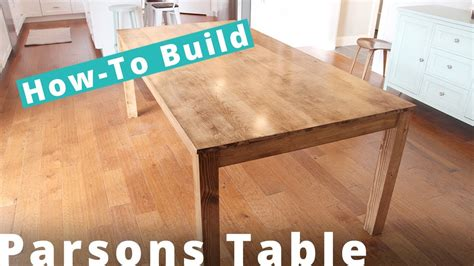 how to a parsons table how to build a parsons table