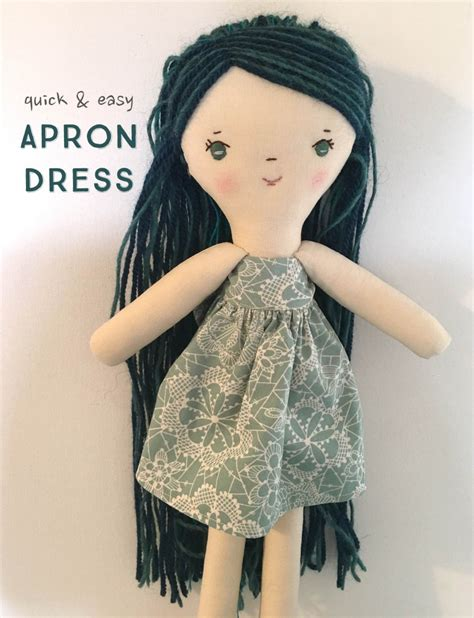 tutorial apron dress tutorial for apron dress for the make along doll wee