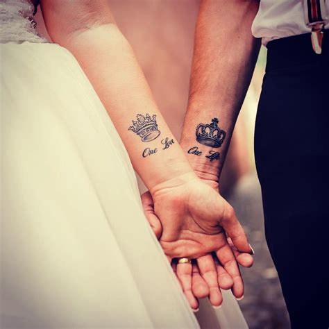 marriage tattoos for couples 45 appealing wedding designs the true testimony