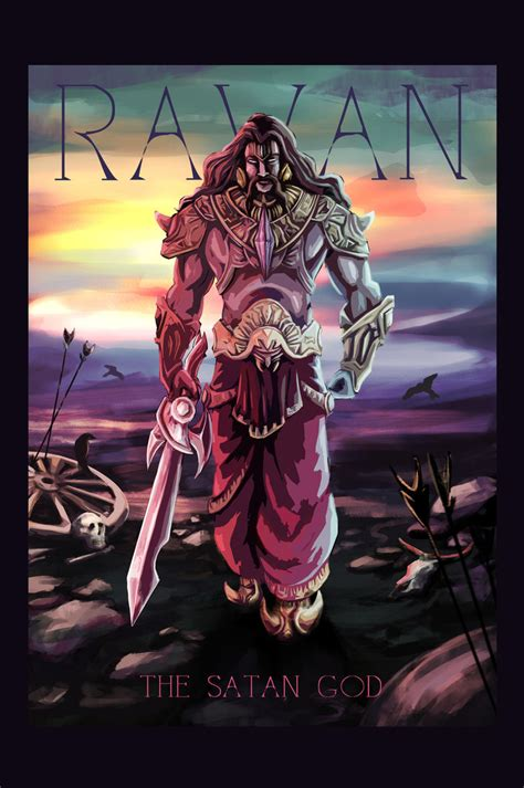 ravan the satan god by mydarkday on deviantart