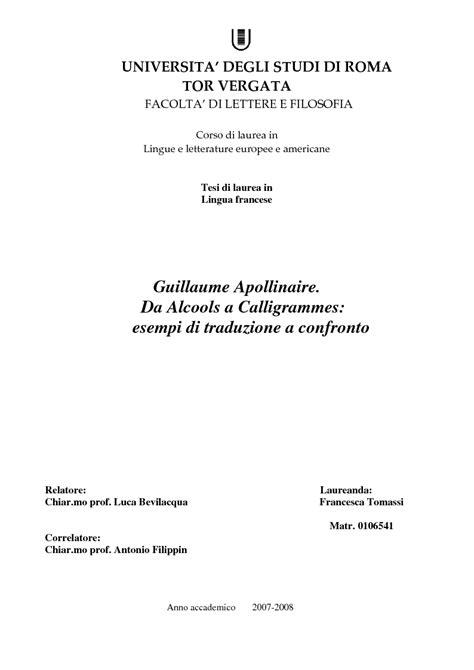 facoltà di lettere tor vergata universita degli studi di roma tor vergata facolta di