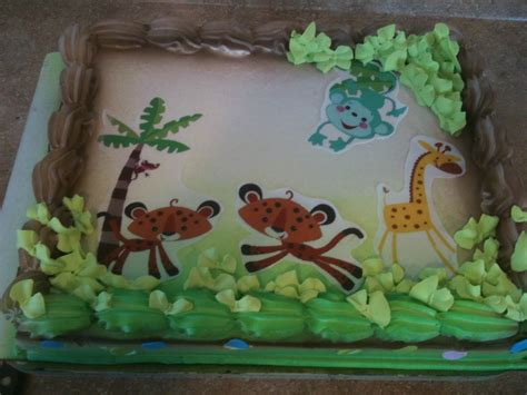 Safari Cakes Baby Shower by Hector S Custom Cakes Baby Shower Safari Themes