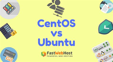 membuat web hosting di centos difference between centos vs ubuntu and their features