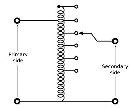 autotransformer diagram autotransformer