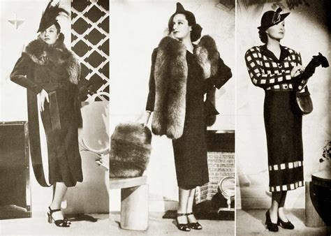 1930s fashion women s dress and hairstyles glamourdaze 1930s fashion hollywood fall styles in 1937 glamourdaze