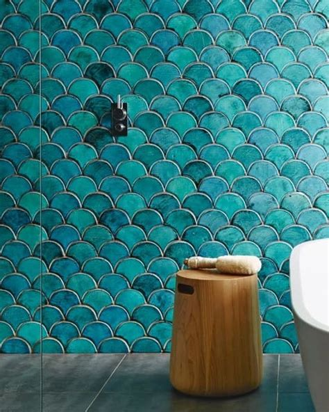 fish scale tile the 25 best ideas about fish scale tile on