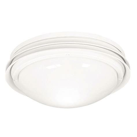 ceiling fan light covers hunter marine ii outdoor white ceiling fan light kit 28438