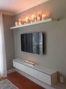 best 25 shelf above tv ideas on pinterest tv on wall