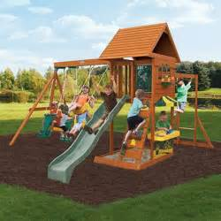 best wooden backyard swing sets for on