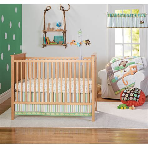 garanimals tropical tree top 3 crib bedding value