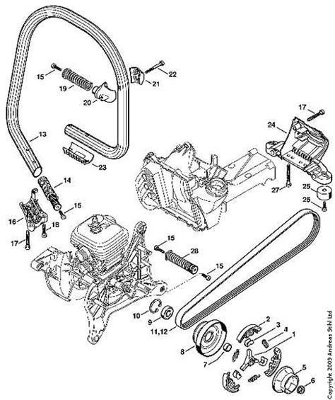 stihl 020t parts diagram stihl parts gallery