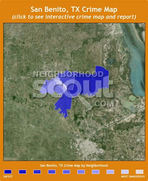 map of san benito texas san benito crime rates and statistics neighborhoodscout