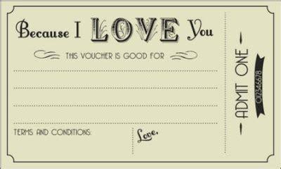 printable boyfriend vouchers free printable love vouchers voucher pinterest
