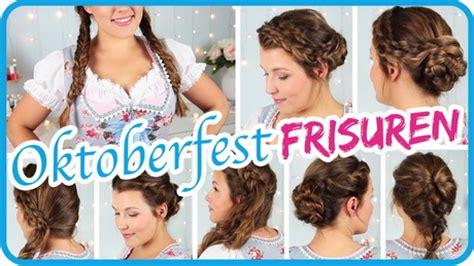 Oktoberfest Frisuren Einfach by Einfache Oktoberfest Frisuren