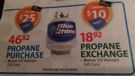 blue rhino propane tank 2 92 at walmart reg price