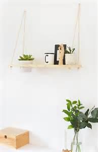 diy hanging plant shelf burkatron