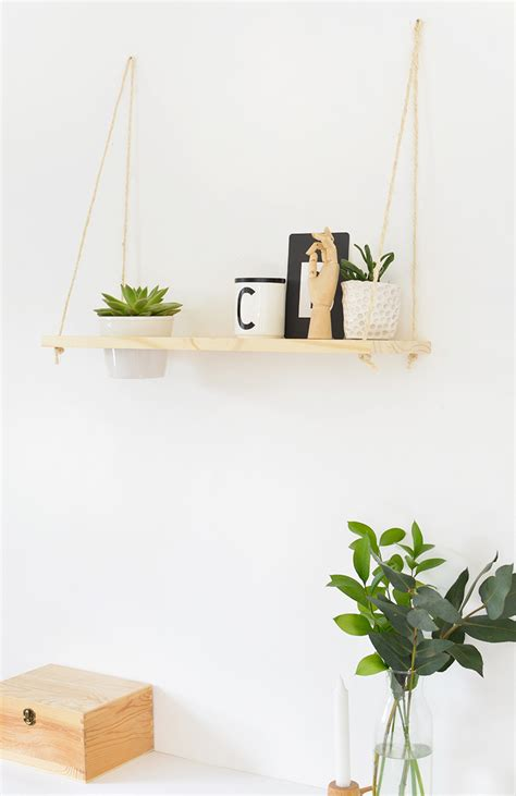 Wall Plant Shelf by Diy Hanging Plant Shelf Burkatron