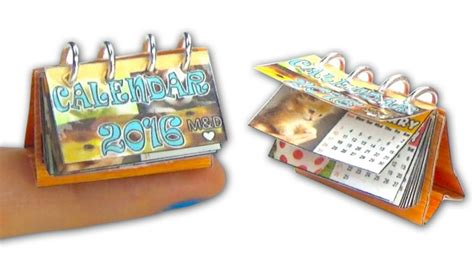 miniature and dollhouse plantillas miniature doll calendar diy tutorial yolandameow