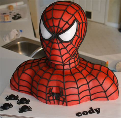 tutorial jedi pdz fork me i m hungry spider man bust cake geekologie