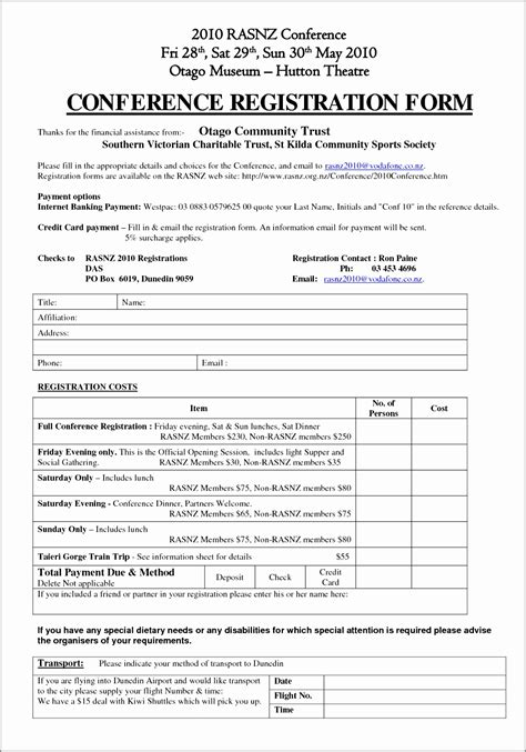 event booking form template word 7 conference booking form template itoiy templatesz234