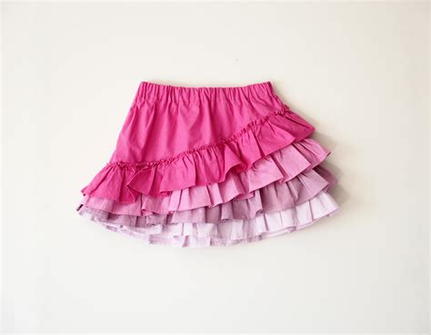 shapla ruffle skirt pdf pattern sizes 0 3 months to 12