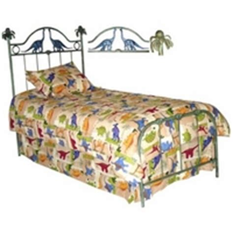Dinosaur Toddler Bed Frame Dinosaur Iron Bed By Corsican Iron Furniture