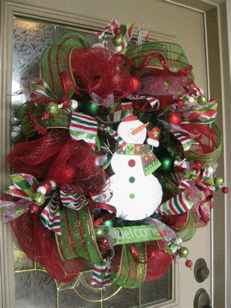 christmas items you tube wreaths kristen s creations mesh wreath tutorial
