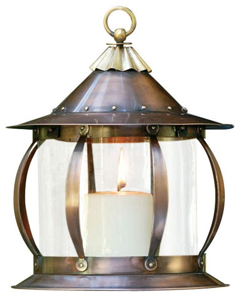 Houzz Outdoor Lighting San Simon Lantern Industrial Outdoor Lighting By H Potter