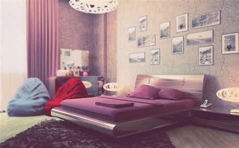 Beautiful Purple Cream Bedroom For Girl Interior Design Beautiful Purple Rooms