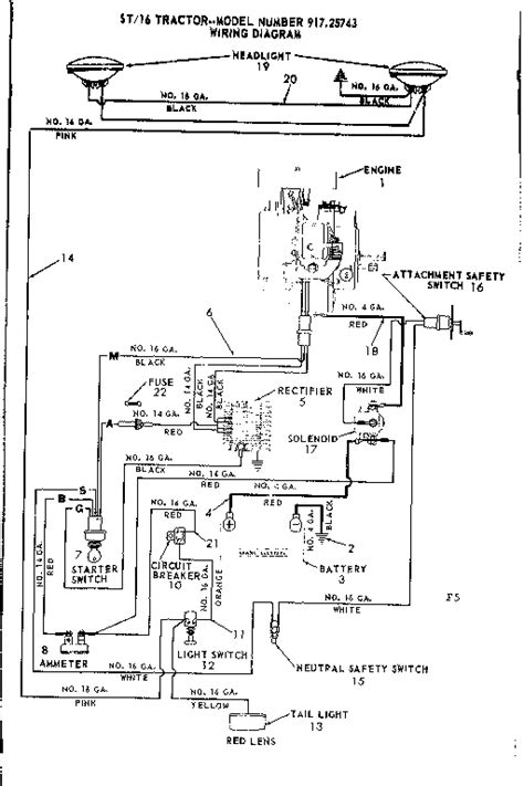craftsman lt1000 wiring diagram 31 wiring diagram images