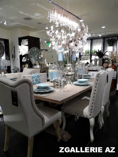 z gallerie dining room focal point styling z gallerie scottsdale reopening