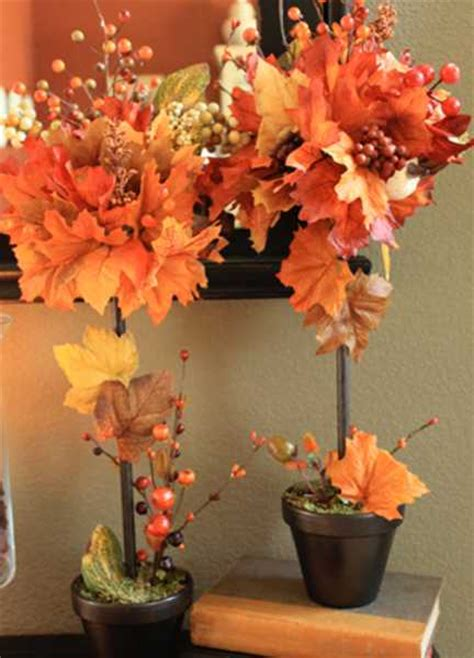 creative fall crafts autumn leaves tree  thanksgiving
