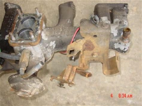 Jeep 258 Intake Manifold 3237858 Jeep Cj 258 Intake Manifold 6 Cyl 7 5 Amc 2 Bbl