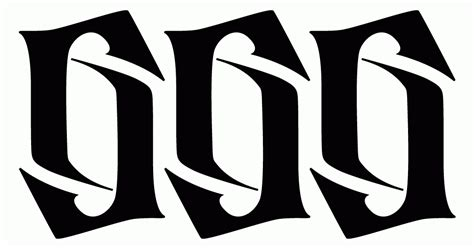 ambigram tattoo numbers ambigrams by roopak suri