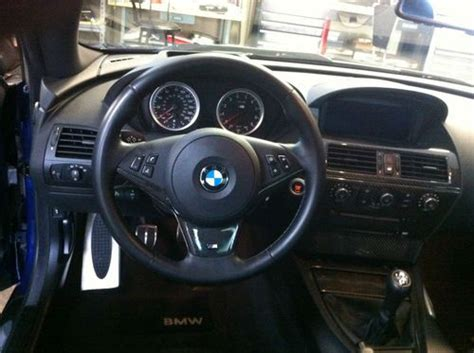 purchase used 2007 bmw m6 manual transmission all options 36k trouble free carbon fiber wow buy used 2007 bmw m6 6 spd manual dinan ac schnitzer vorsteiner upgraded in mount