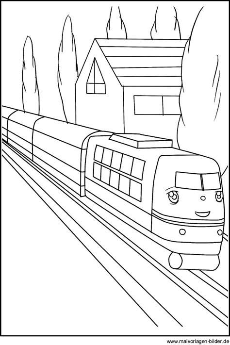 ausmalbilder eisenbahn kostenlos malvorlagen zum