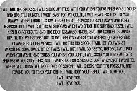the best wedding vows