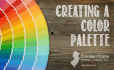 Garden State Loans creating a color palette for your home s interior garden state home loans