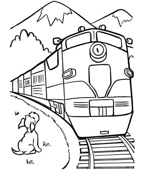 Locomotive Coloring Pages free printable coloring pages for