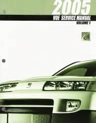 free online auto service manuals 2005 saturn vue regenerative braking 2005 saturn vue factory service manual 4 vol set