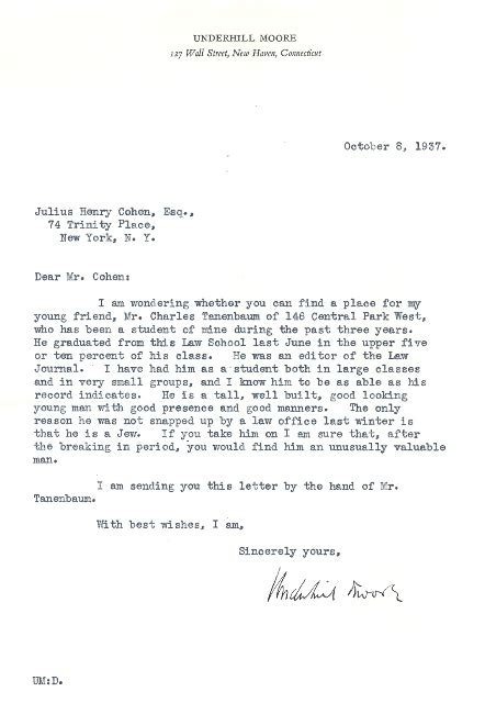 Recommendation Letter Yale Books Yale School Library