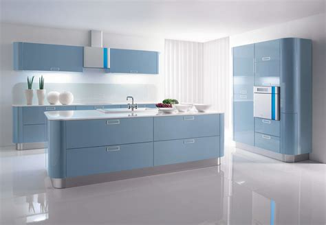blue kitchen design 10 refreshing blue kitchen interior design ideas https
