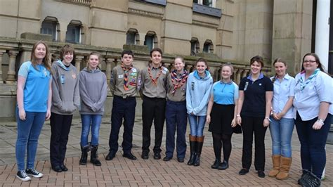 Guides Senior Section by Guides And Scouts Together For Thinking Day Girlguiding
