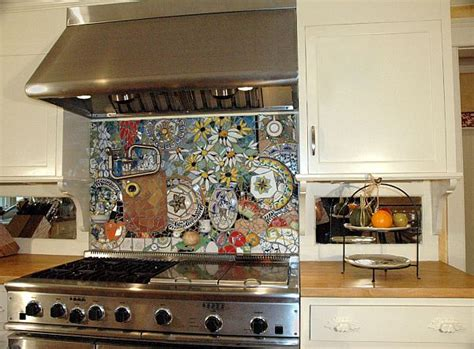 Kitchen Mosaic Designs Diy Mosaic Backsplash Omahdesigns Net