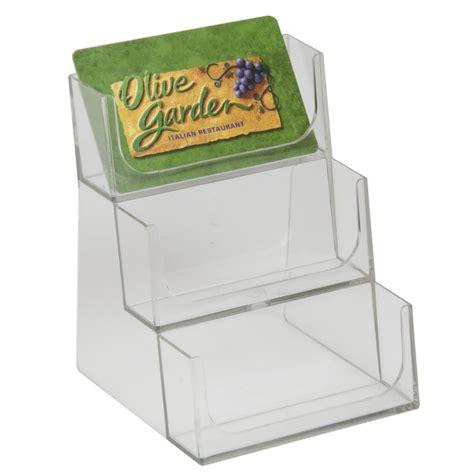 Gift Card Bin - visi bin gift card bin 3 tiered