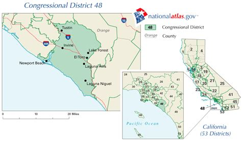 california 49th district map california congressional district 48 map and rep 112th