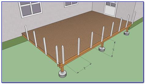 wood deck railing post spacing deck railing post spacing decks home decorating ideas
